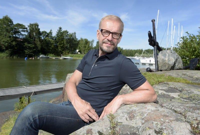 Näyttelijä Jukka Puoltila 5. elokuuta 2015. LEHTIKUVA Markku Ulander