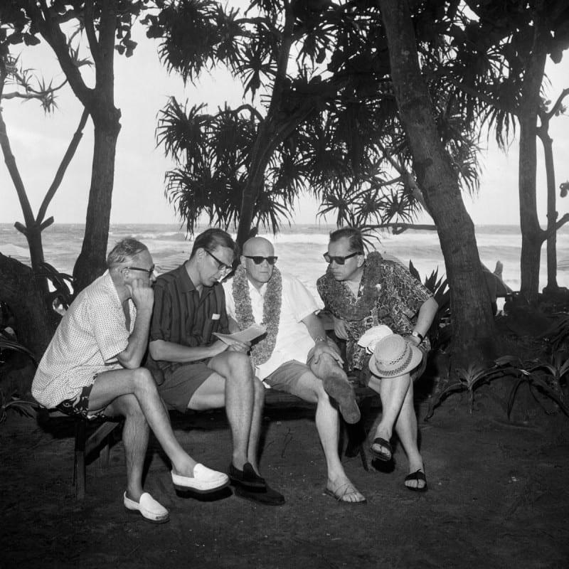 Noottikriisi tavoitti presidentti Urho Kekkosen seurueineen Havaijilla 1961.