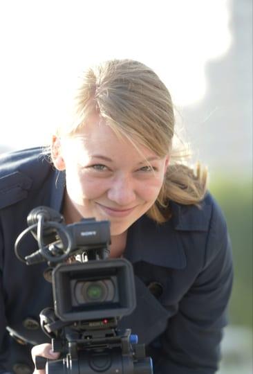 STT:n ja MTV:n Moskovan-kirjeenvaihtaja Iida Tikka. Kuva: Lehtikuva / Martti Kainulainen