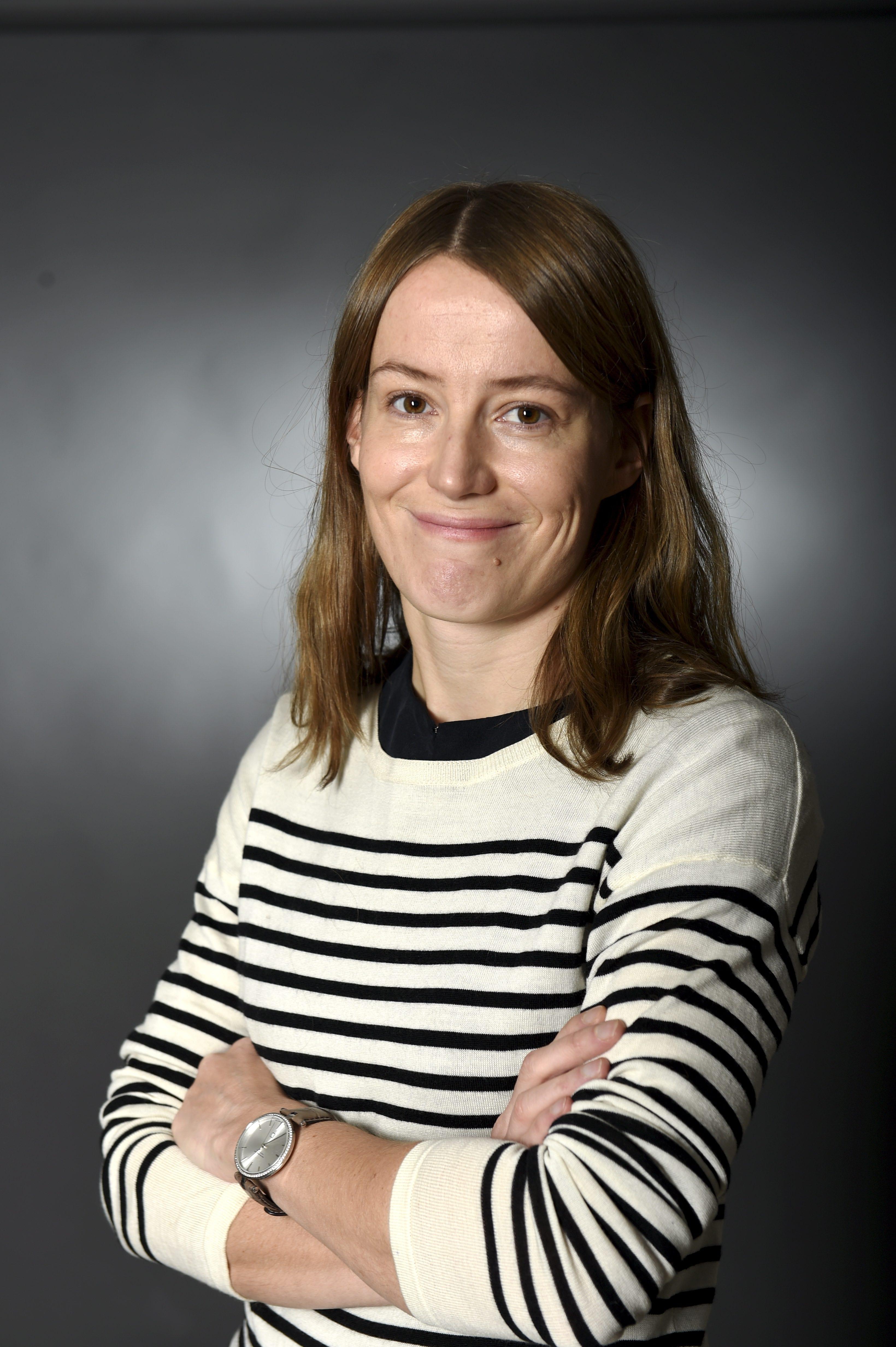 STT:n Brysselin kirjeenvaihtaja, toimittaja Annu Marjanen. LEHTIKUVA / ANTTI AIMO-KOIVISTO