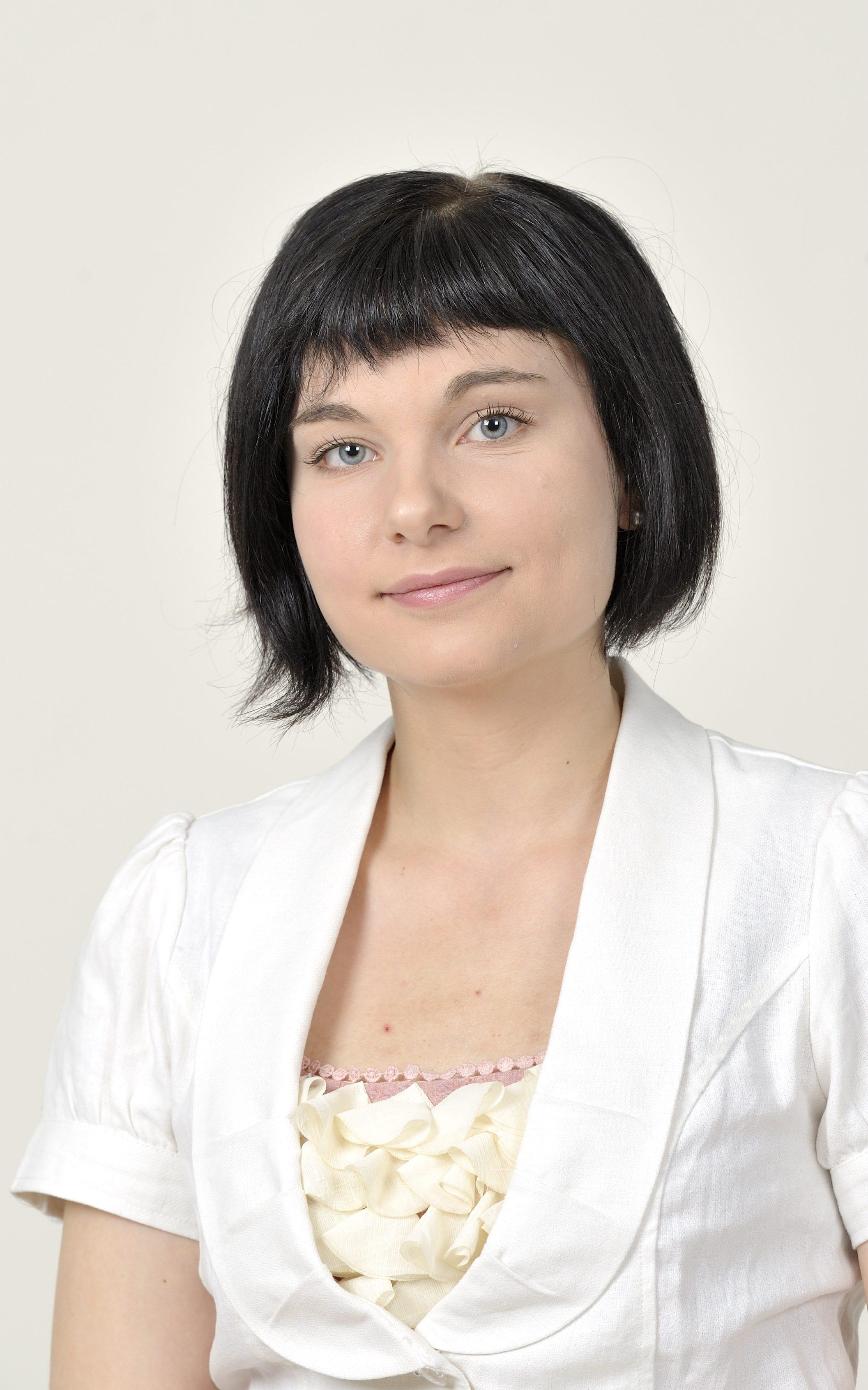 Salla Salmela STT-Lehtikuvan kesätoimittajakuvauksessa Voimatalossa Helsingissä, 16. toukokuuta 2011. LEHTIKUVA / PEKKA SAKKI