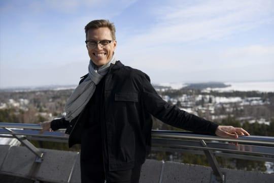 Kokoomuspoliitikko Alexander Stubb.